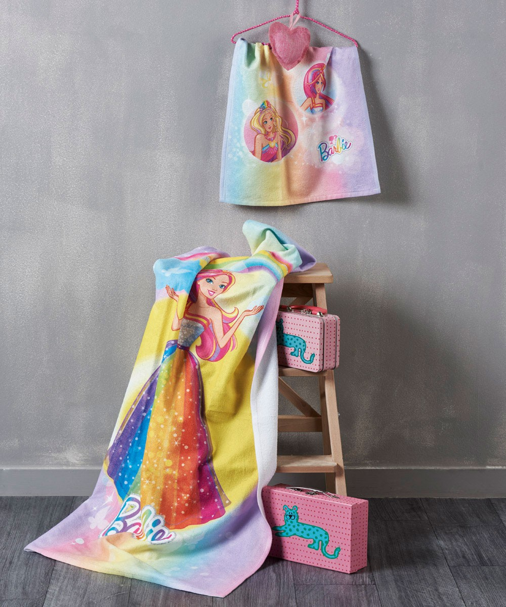 Πετσέτα Σώματος (70×125) Kentia Kids Collection Barbie 049
