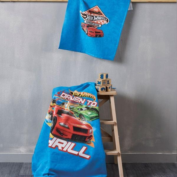 Παιδική Πετσέτα Χεριών (40x60) Kentia Kids Hot Wheels 20