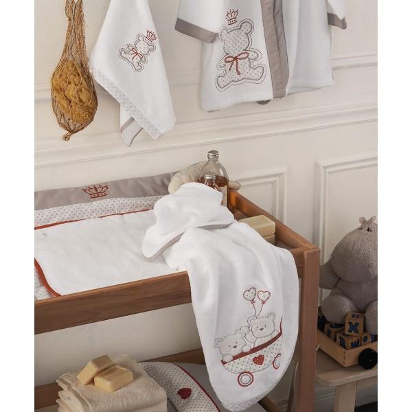 Βρεφικές Πετσέτες (Σετ 2τμχ) Kentia Baby Arturo