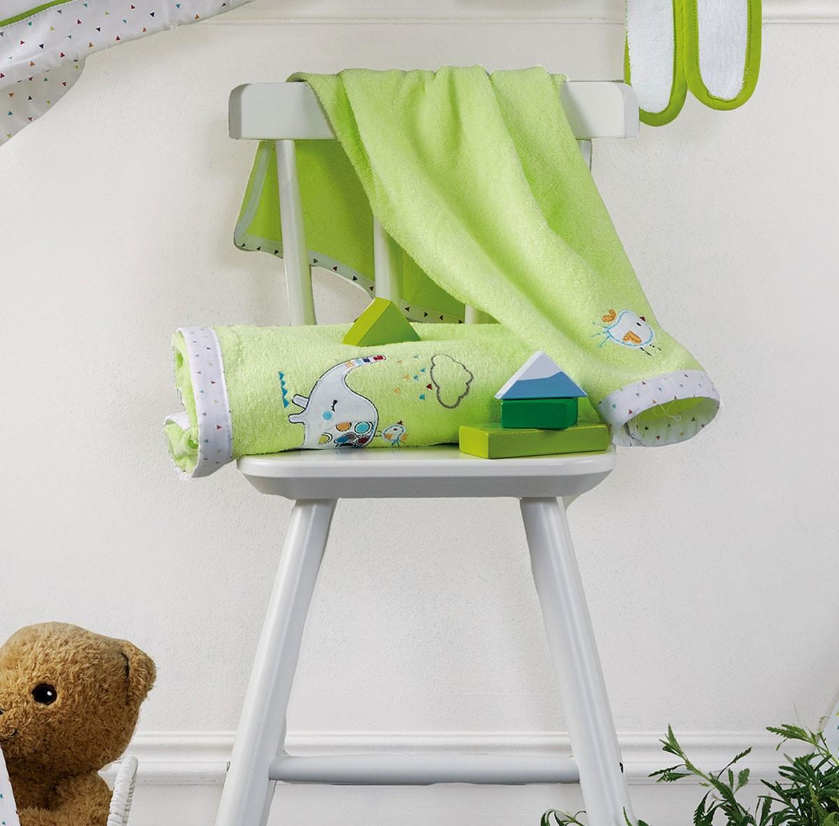 Βρεφικές Πετσέτες (Σετ 2τμχ) Kentia Baby Elephant