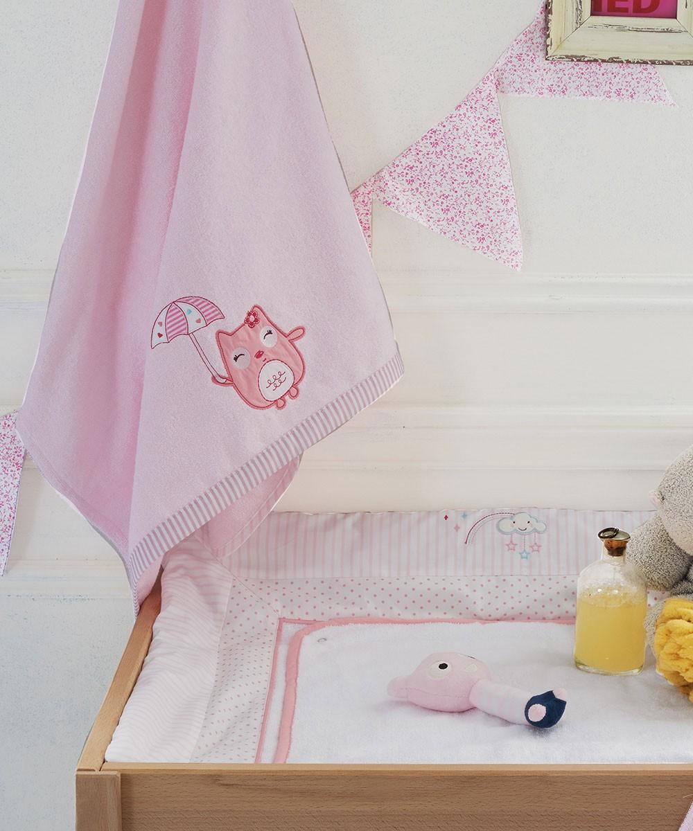Βρεφικές Πετσέτες (Σετ 2τμχ) Kentia Baby Happy Time