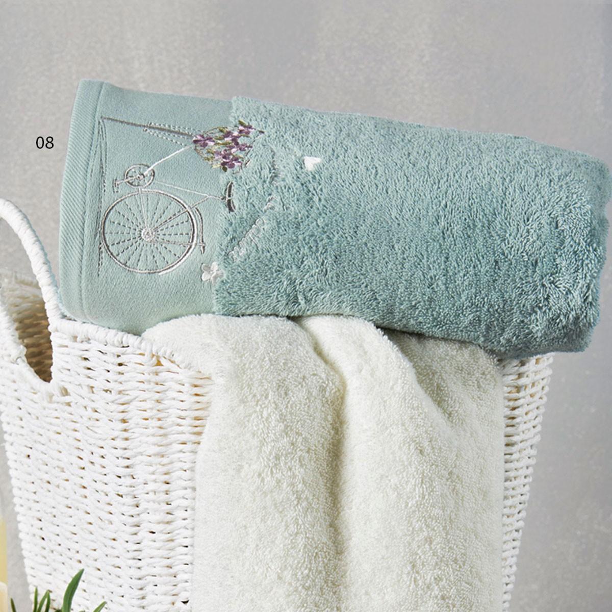Πετσέτες Μπάνιου (Σετ 3τμχ) Kentia Bath Rimini 08