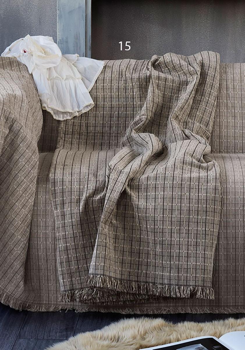 Ριχτάρι Τετραθέσιου (180x340) Kentia Home Made Lynx 15 home   σαλόνι   ριχτάρια καναπέ