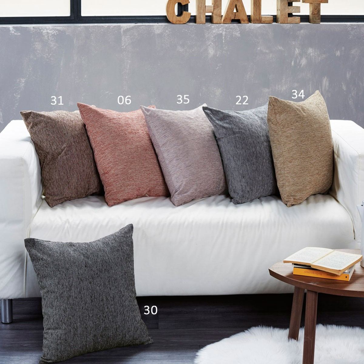 Διακοσμητική Μαξιλαροθήκη Kentia Home Made Trends