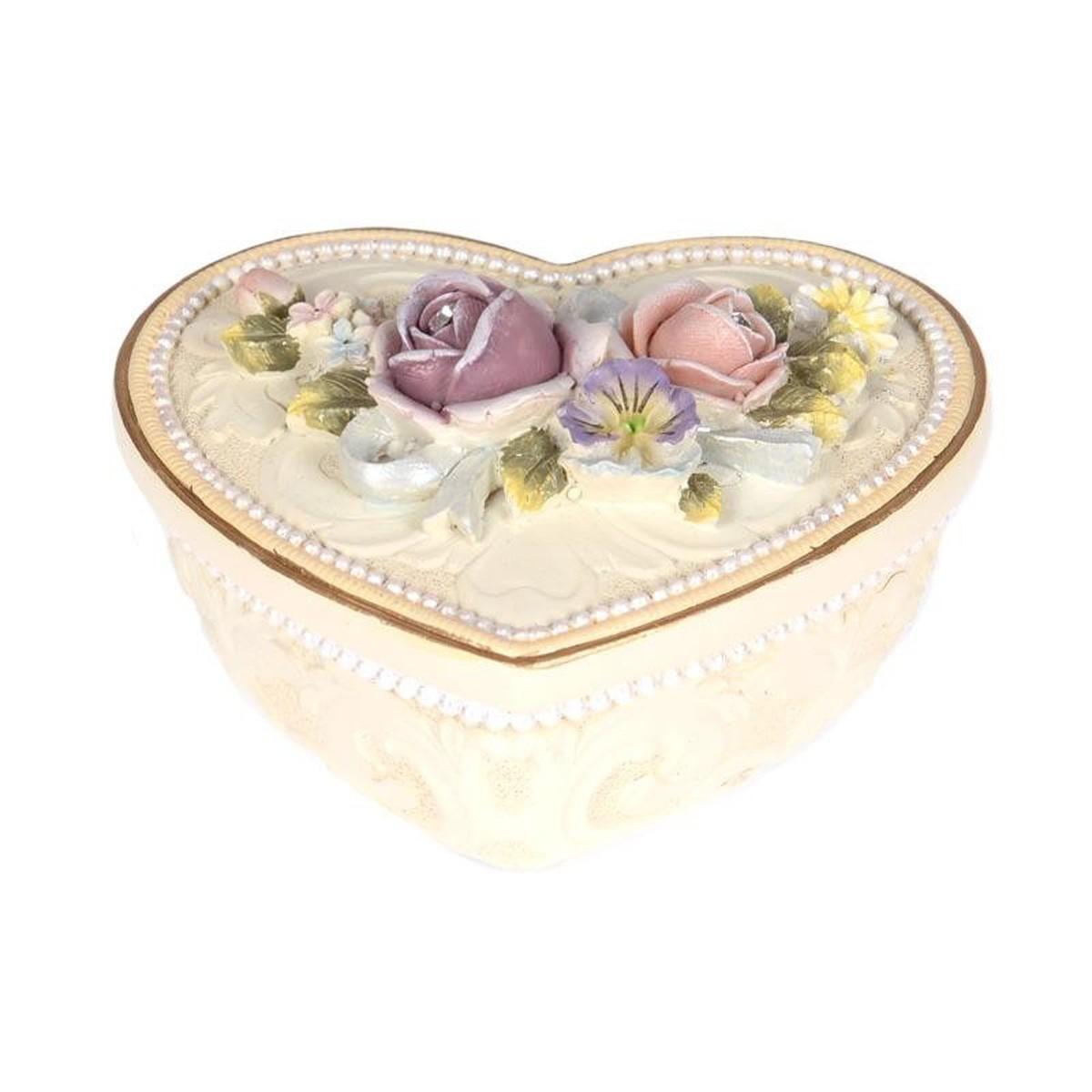 Μπιζουτιέρα InArt Lacquered Roses 3-70-117-0026