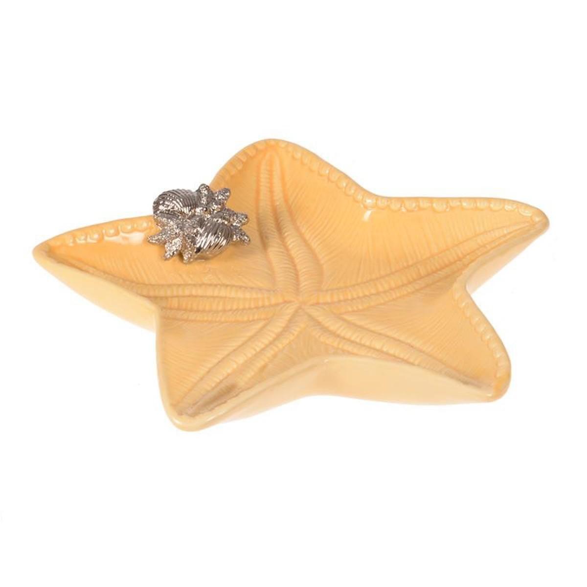 Πιατέλα Διακόσμησης InArt Starfish 4-70-146-0045 55722