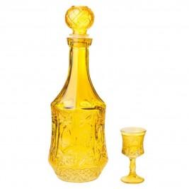 Καράφα (Σετ 7τμχ) InArt Algiers Yellow 3-70-223-0019