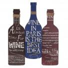 Θήκη Κρασιών Τοίχου InArt Wine Time 3-70-386-0036 55780