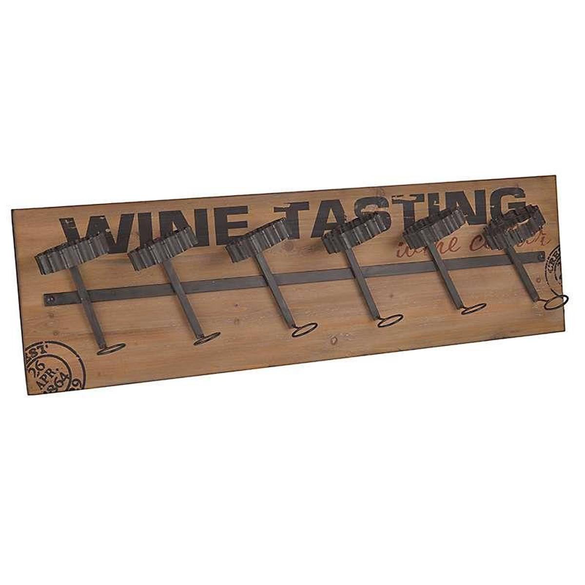 Μπουκαλοθήκη Τοίχου InArt Wine Tasting 3-70-812-0109