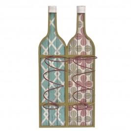 Μπουκαλοθήκη Τοίχου InArt Fleur Du Vin 3-70-447-0053