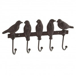 Κρεμάστρα Τοίχου 5 Θέσεων InArt Birds 3-70-798-0187