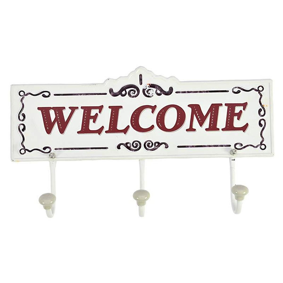 Κρεμάστρα Τοίχου InArt Welcome 3-70-773-0071 55911