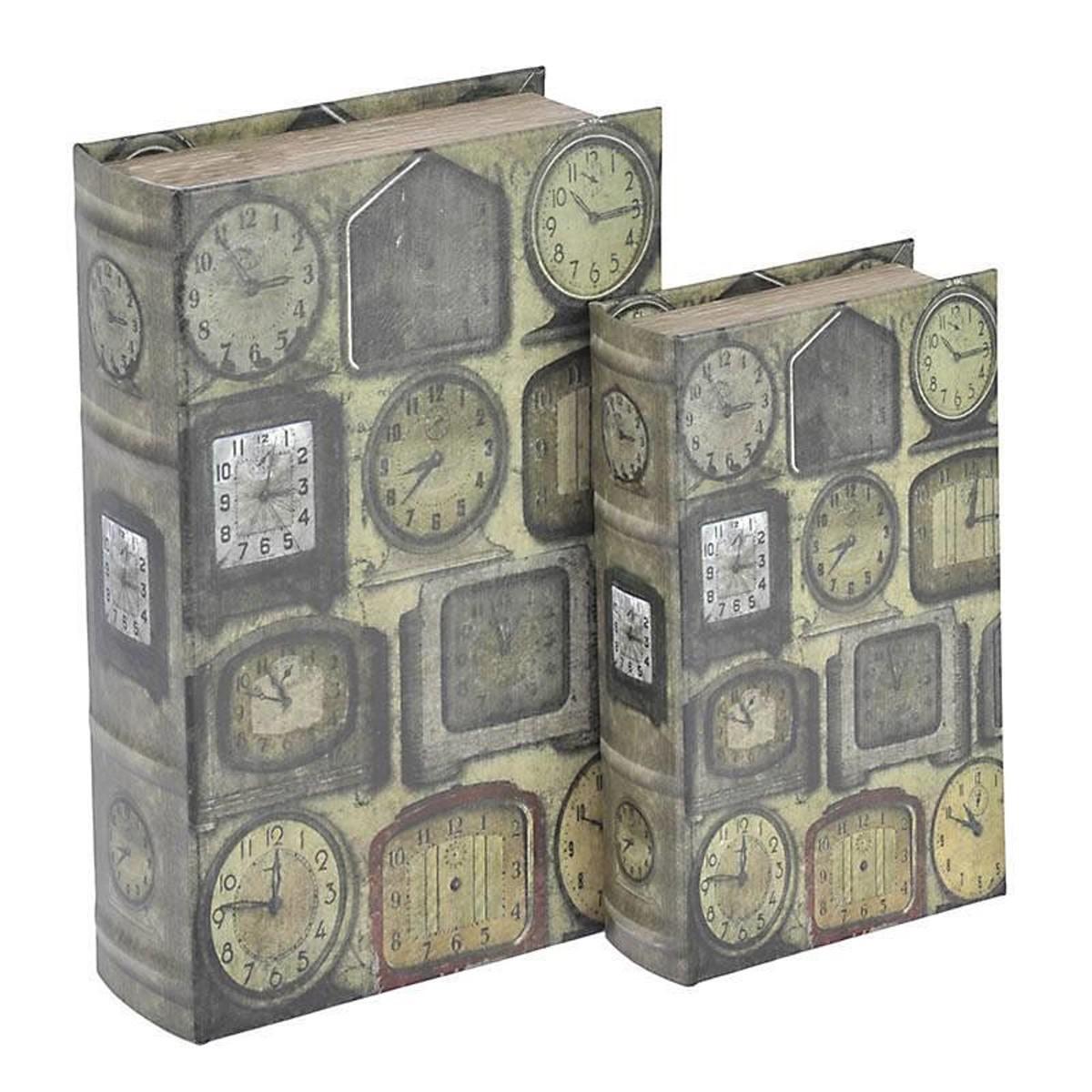 Κουτιά/Βιβλία (Σετ 2τμχ) InArt Tempus 3-70-435-0204