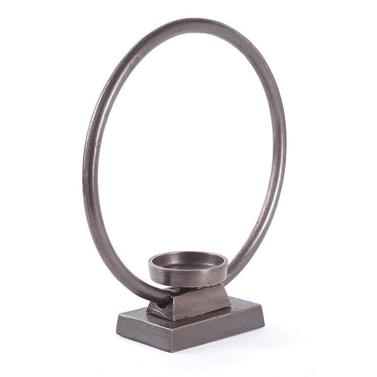 Κηροπήγιο InArt Flame Hoop Bronze Circle 3-70-357-0057