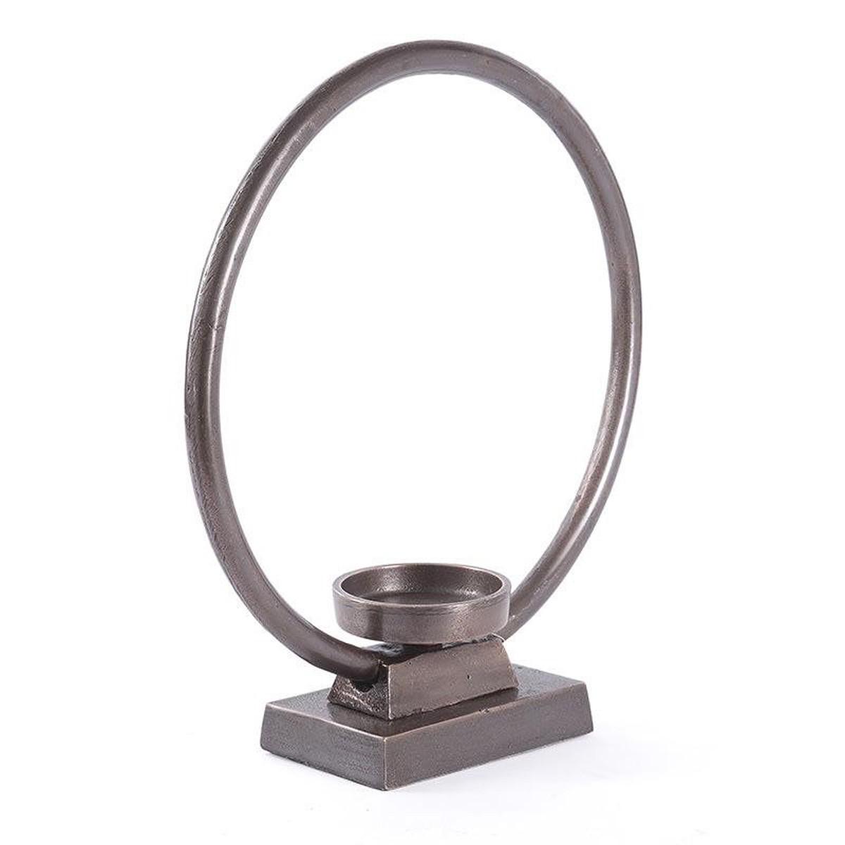 Κηροπήγιο InArt Flame Hoop Bronze Circle 3-70-357-0057