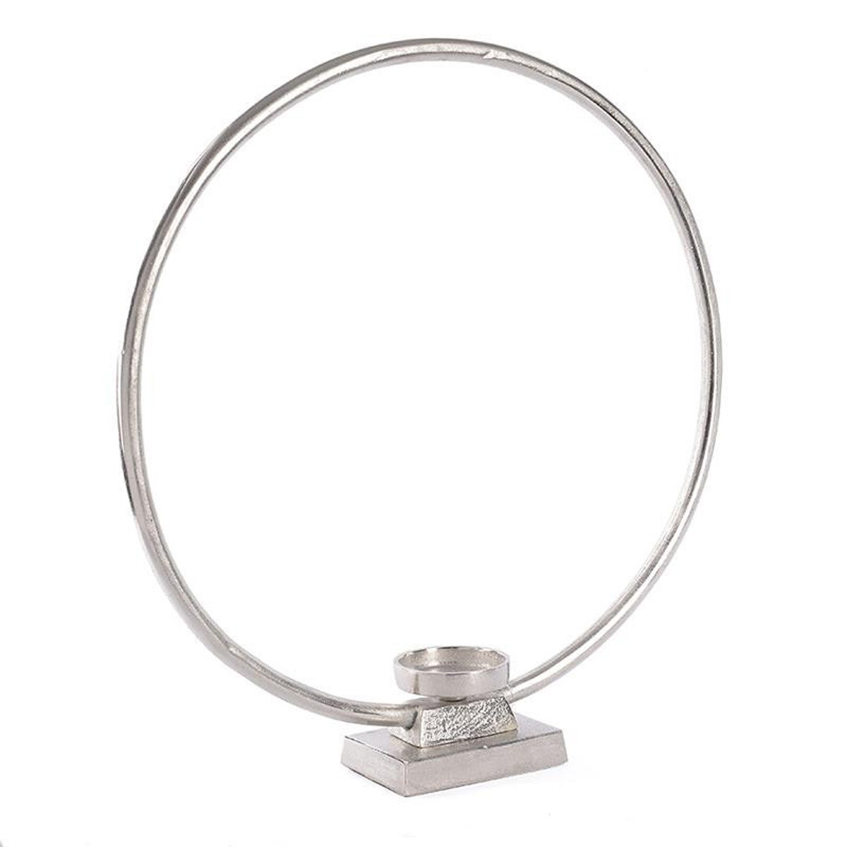 Κηροπήγιο InArt Flame Hoop Silver 3-70-357-0058