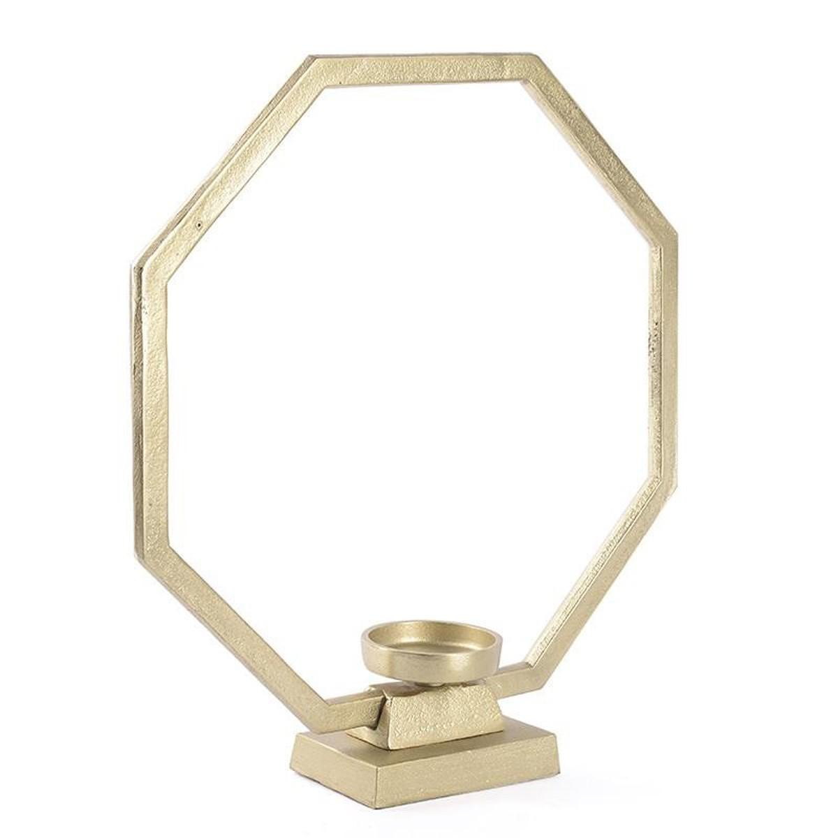 Κηροπήγιο InArt Flame Hoop Gold 3-70-357-0059