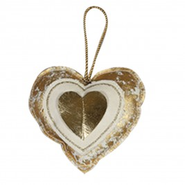 Χριστουγεννιάτικο Στολίδι Nef-Nef Xmas My Heart Gold