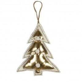 Χριστουγεννιάτικο Στολίδι Nef-Nef Xmas Small Tree Gold