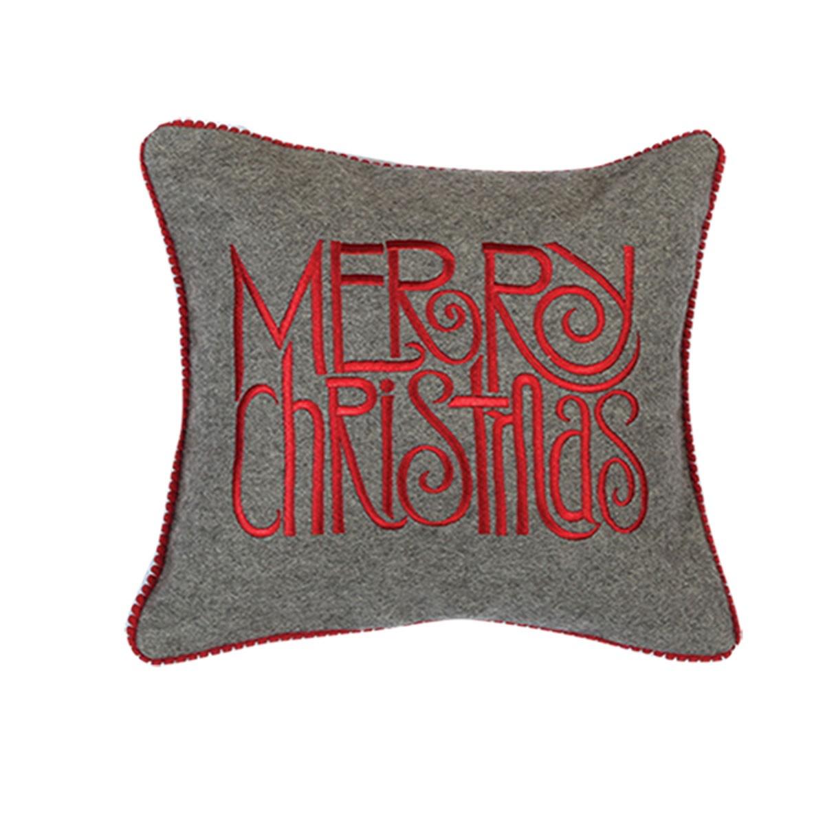 Χριστουγεννιάτικο Μαξιλαράκι Nef-Nef Xmas Merry Christmas
