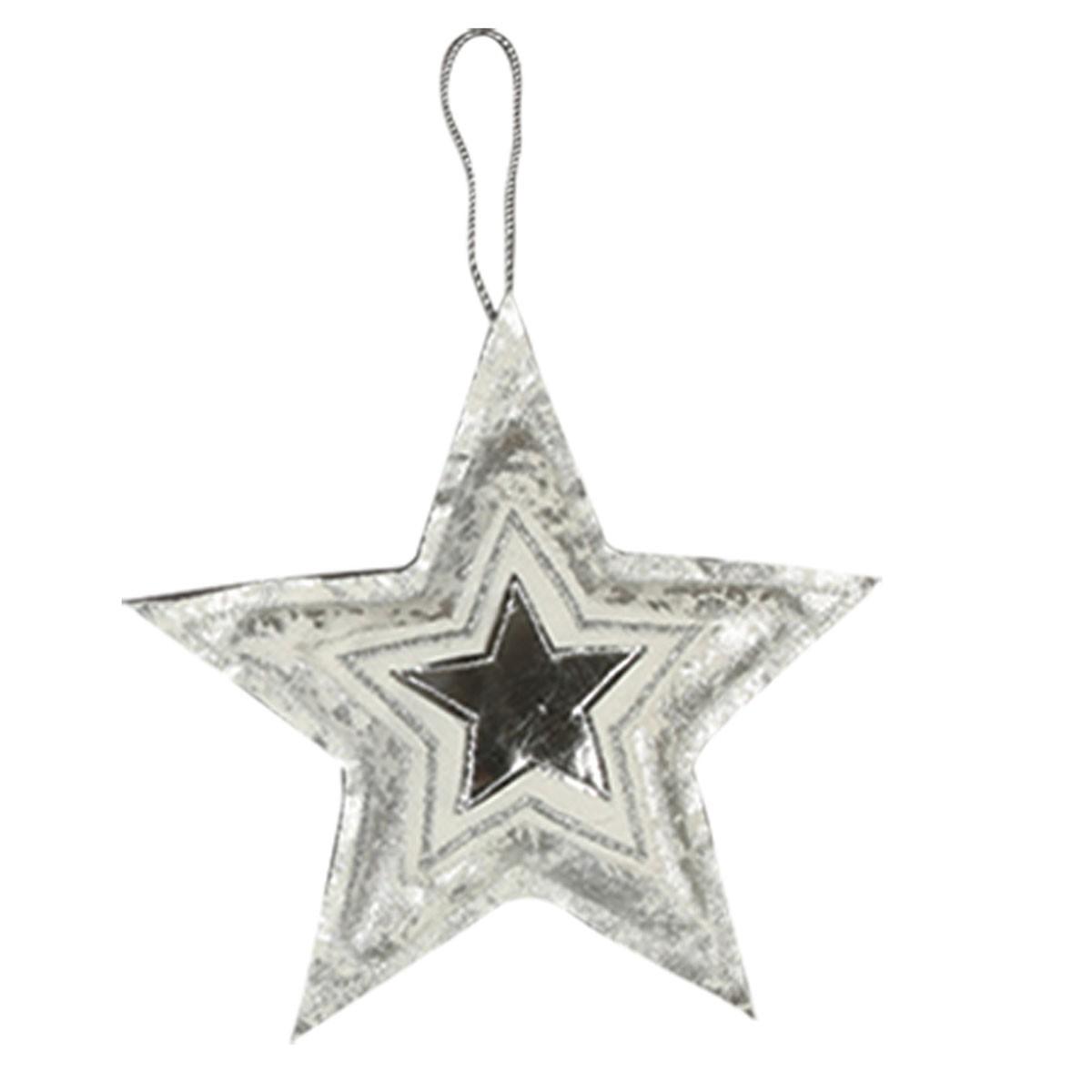 Χριστουγεννιάτικο Στολίδι Nef-Nef Xmas Star Silver
