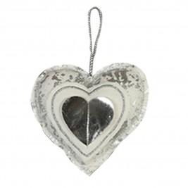 Χριστουγεννιάτικο Στολίδι Nef-Nef Xmas My Heart Silver