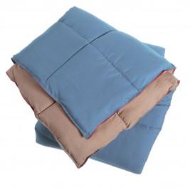 Πάπλωμα Υπέρδιπλο 2 Όψεων Nef-Nef Bicolor Blue-Beige