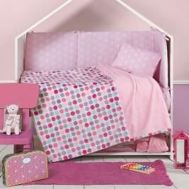 Κουβέρτα Fleece Αγκαλιάς Nef-Nef Petit Blanket Pink