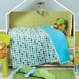 Κουβέρτα Fleece Κούνιας Nef-Nef Petit Blanket Blue