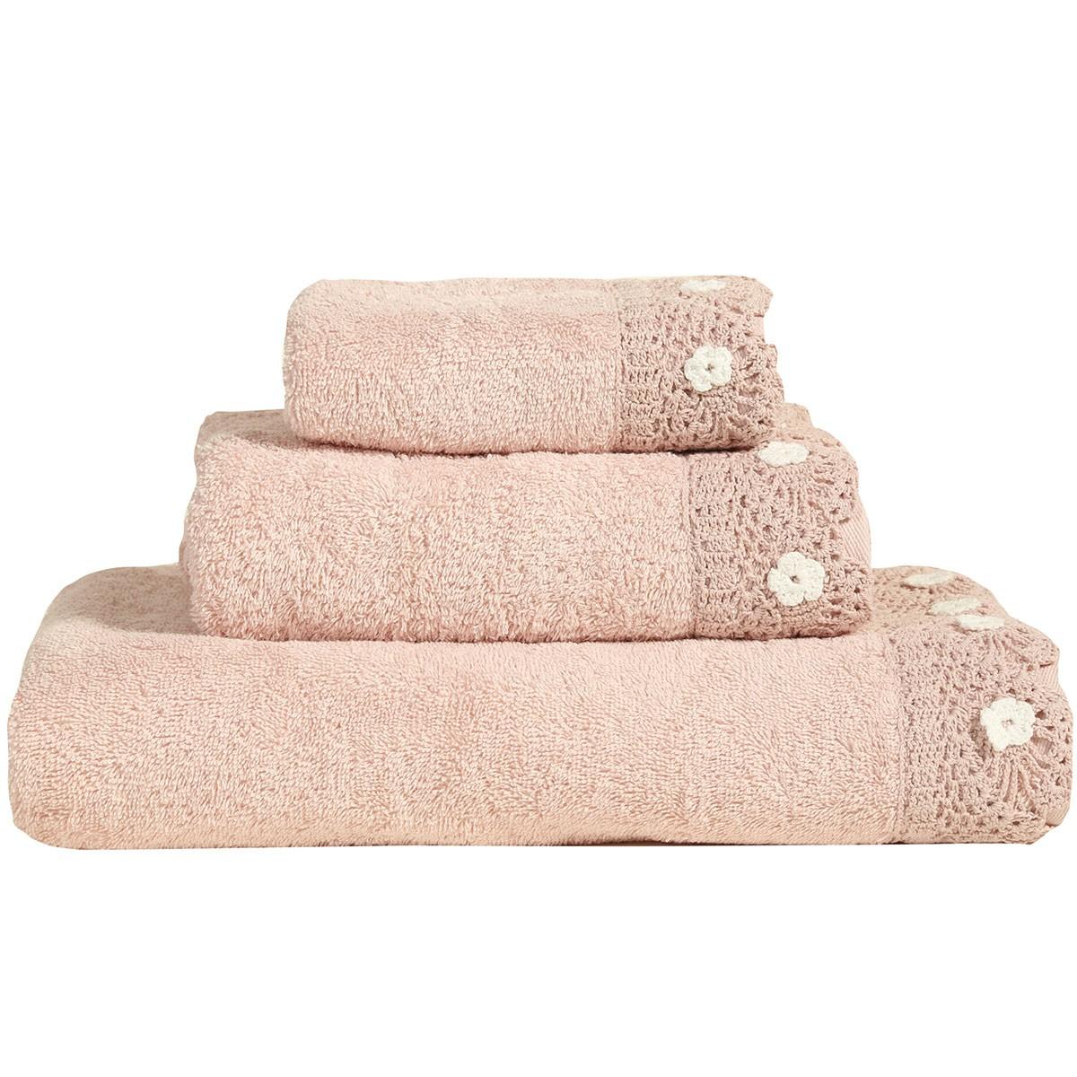 Πετσέτες Μπάνιου (Σετ 3τμχ) Nef-Nef Sofia