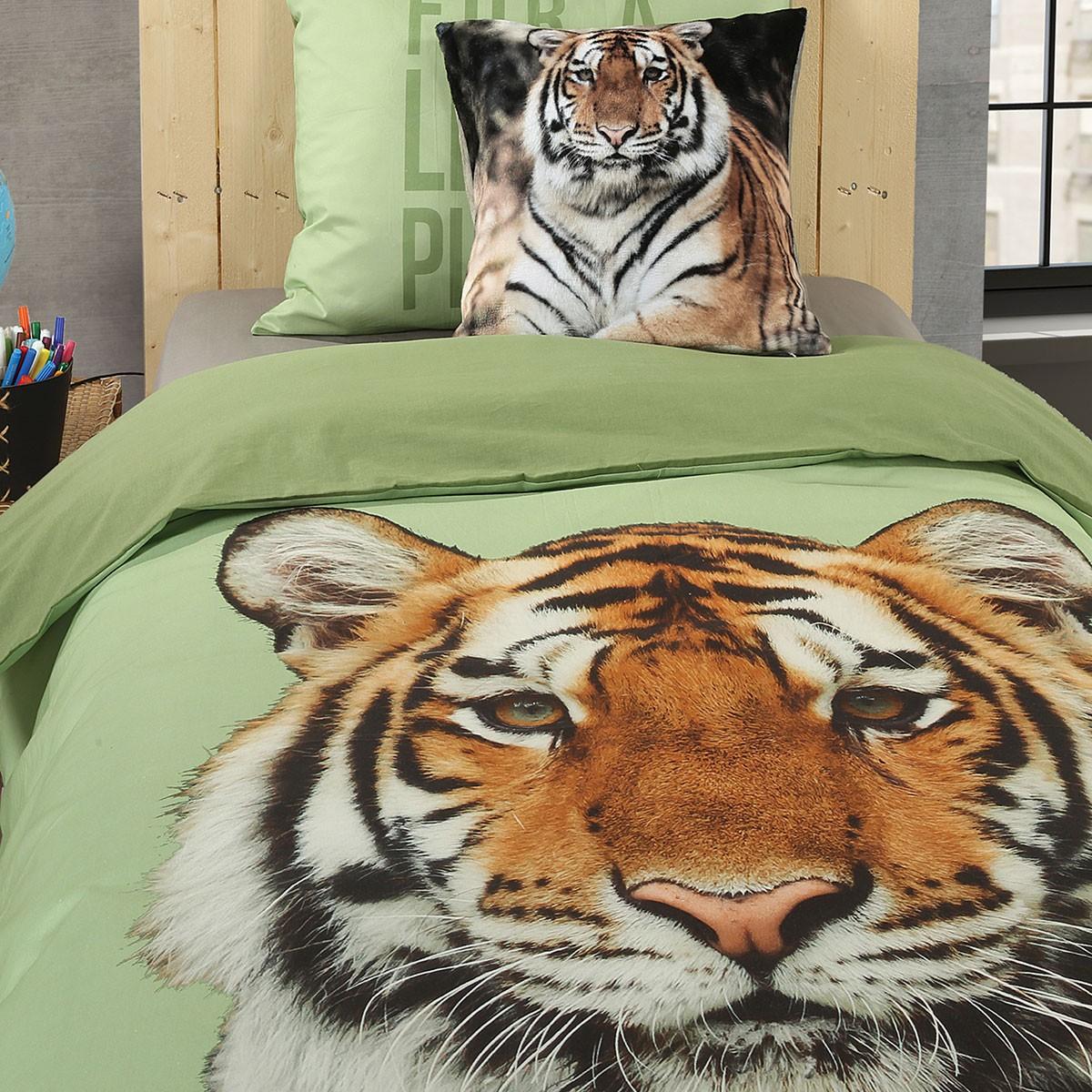 Παπλωματοθήκη Μονή (Σετ) Nef-Nef WWF Tiger
