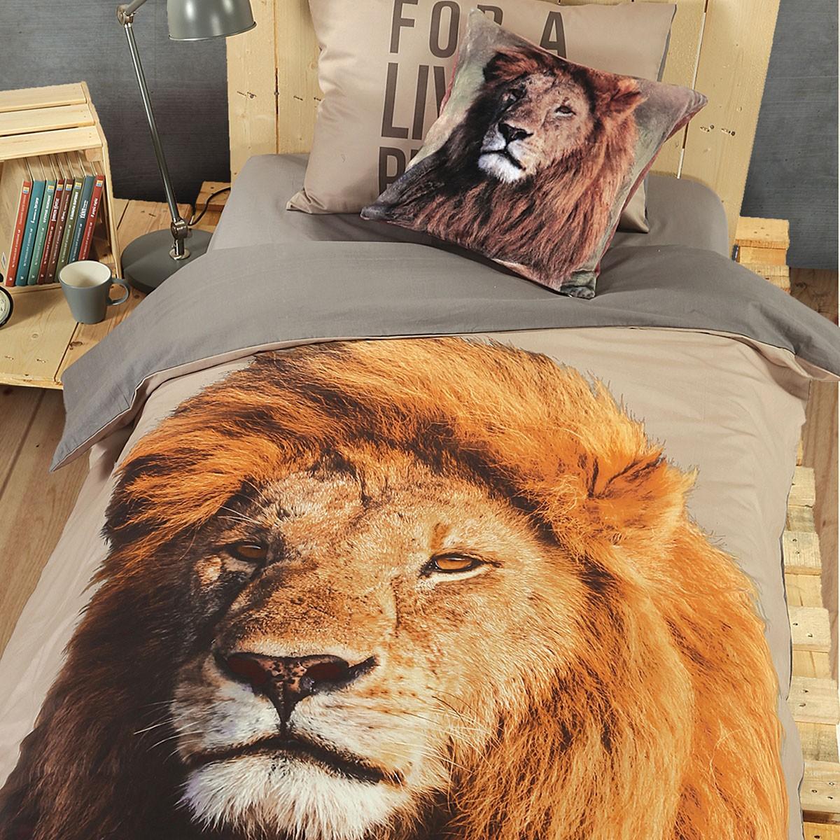 Παπλωματοθήκη Μονή (Σετ) Nef-Nef WWF Lion