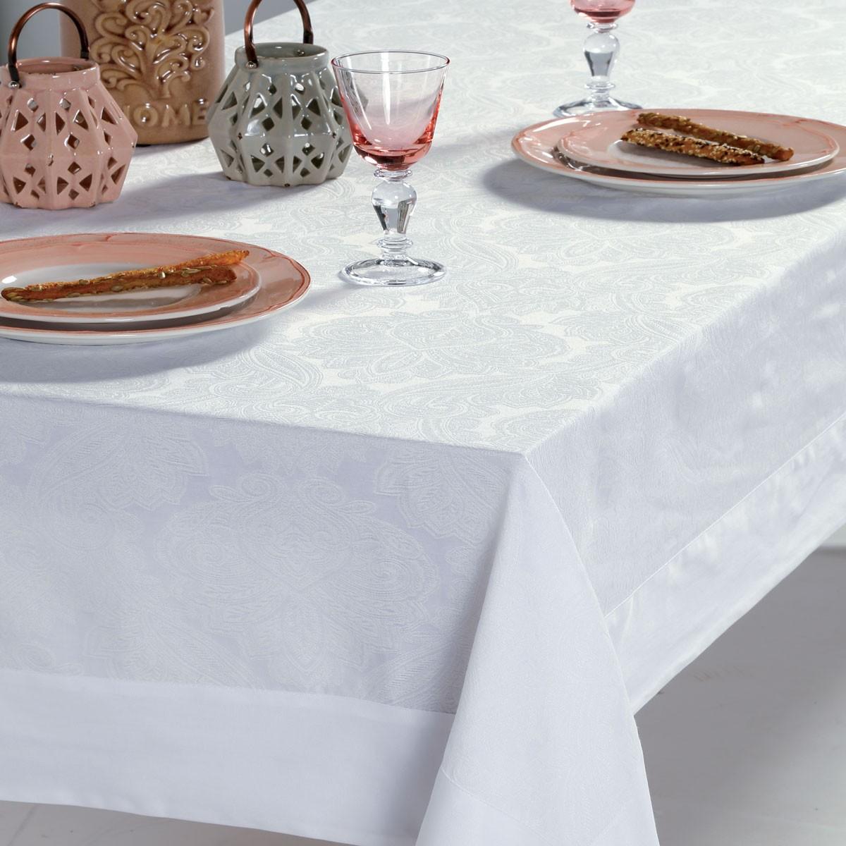 Τραπεζομάντηλο (160x260) Nef-Nef Kitchen Misty White home   κουζίνα   τραπεζαρία   τραπεζομάντηλα