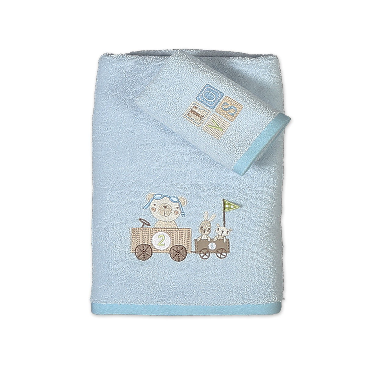 Βρεφικές Πετσέτες (Σετ 2τμχ) Nef-Nef Baby Play Now