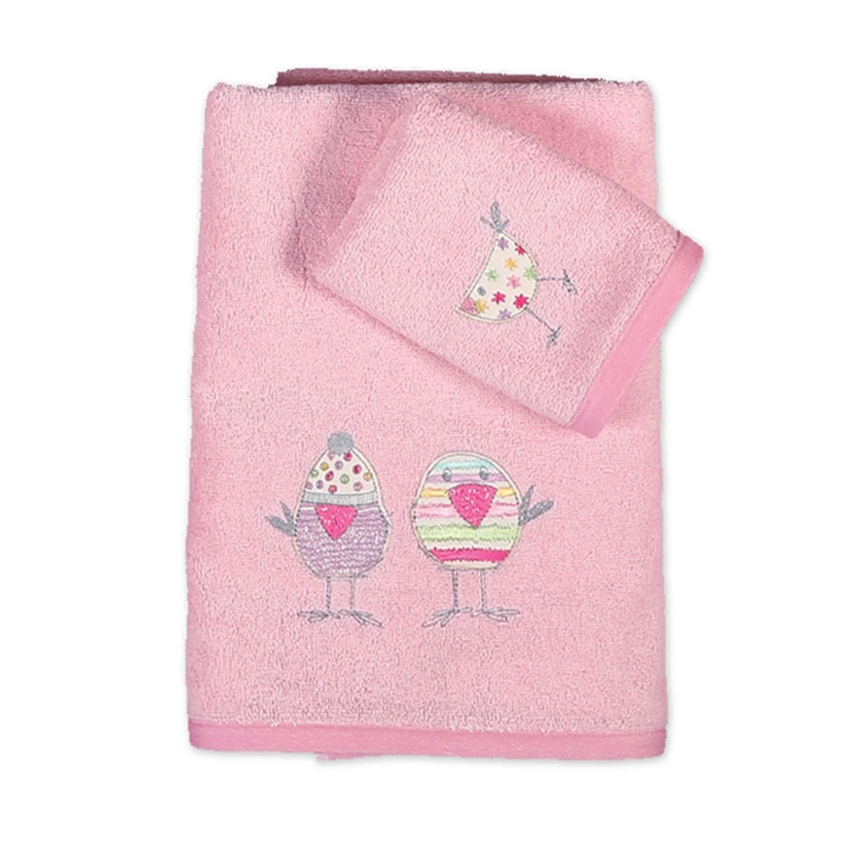 Βρεφικές Πετσέτες (Σετ 2τμχ) Nef-Nef Baby Party Birds