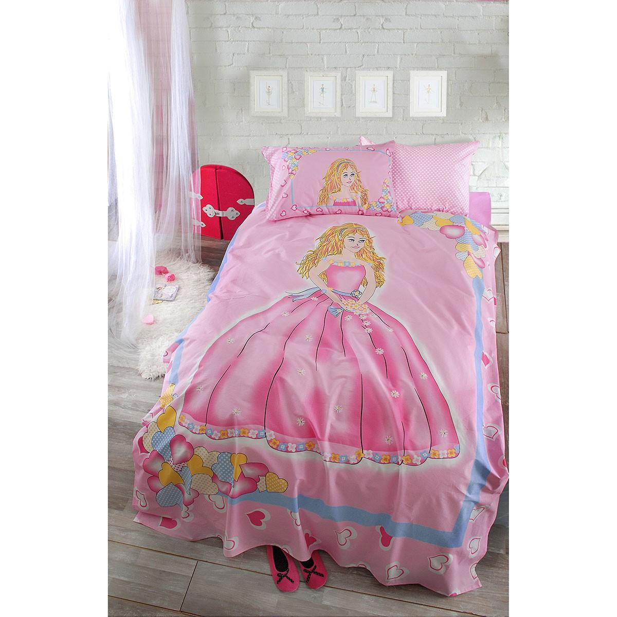 Παπλωματοθήκη Μονή (Σετ) Rythmos Princess