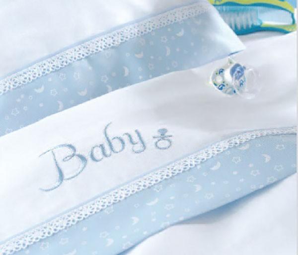 Σεντόνια Κούνιας (Σετ) Rythmos Baby Ciel