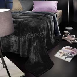 Κουβέρτα Fleece Υπέρδιπλη Nima Loafer Misty