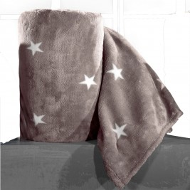 Κουβέρτα Fleece Υπέρδιπλη Nima Llama Estrella 04