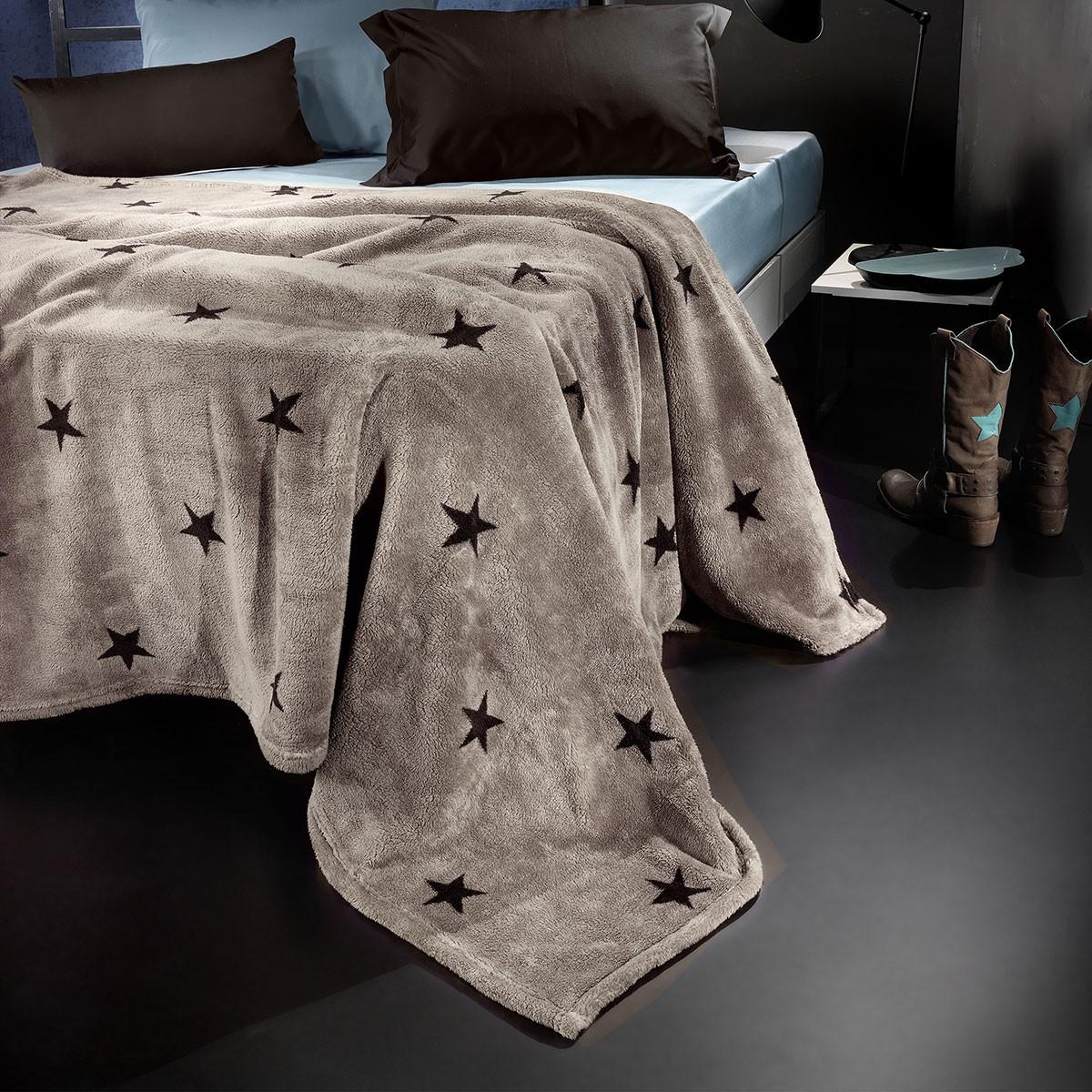 Κουβέρτα Fleece Υπέρδιπλη Nima Llama Estrella 06