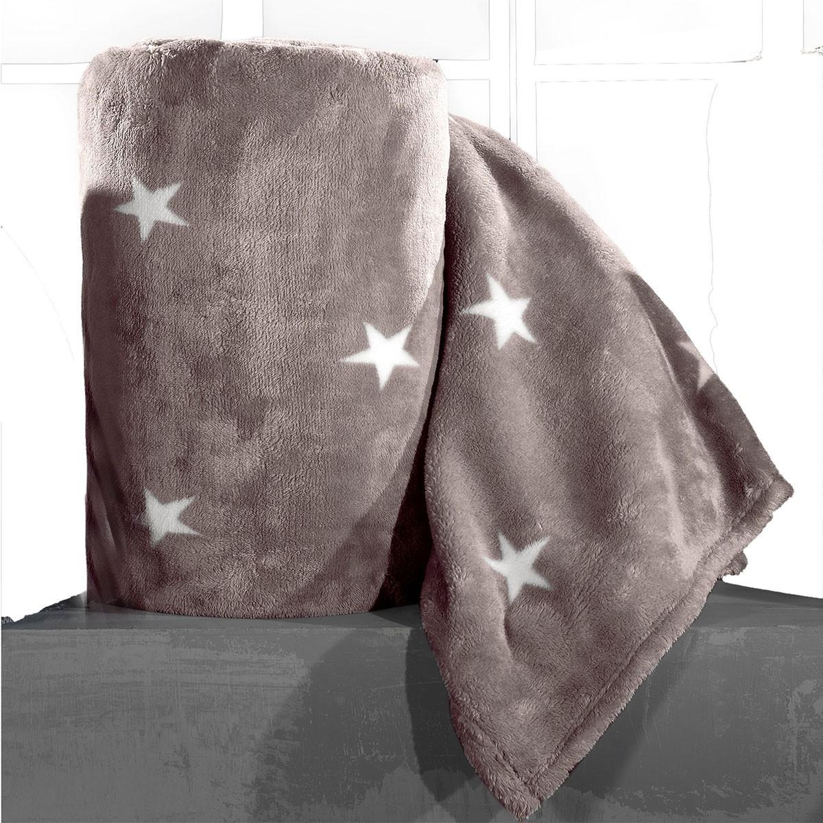 Κουβέρτα Fleece Μονή Nima Llama Estrella 04