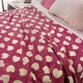 Κουβέρτα Fleece Μονή Nima Llama Mon Coeur 02