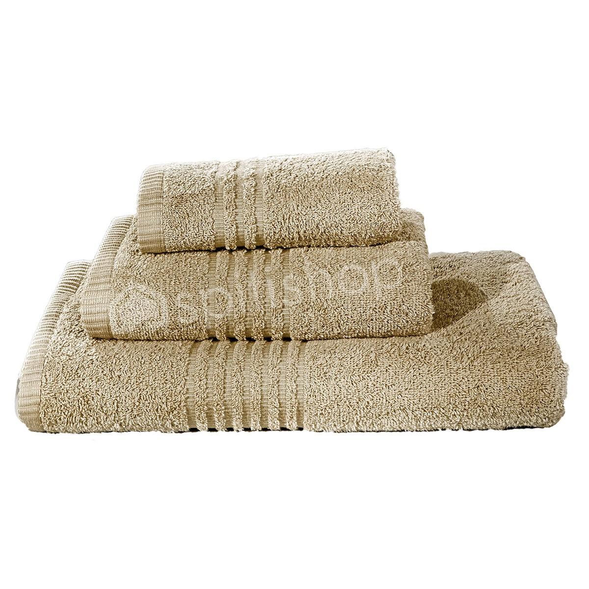 Πετσέτες Μπάνιου (Σετ 3τμχ) Nima Savoia Toffee