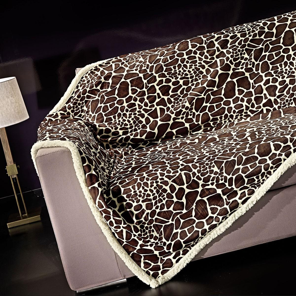 Κουβέρτα Καναπέ (170×230) Nima Wild Thing Kamili