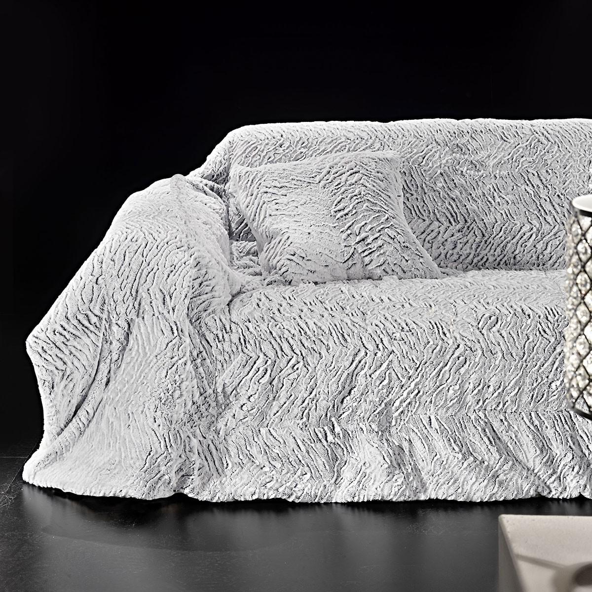Κουβέρτα Καναπέ (170×230) Nima Juno Tisha