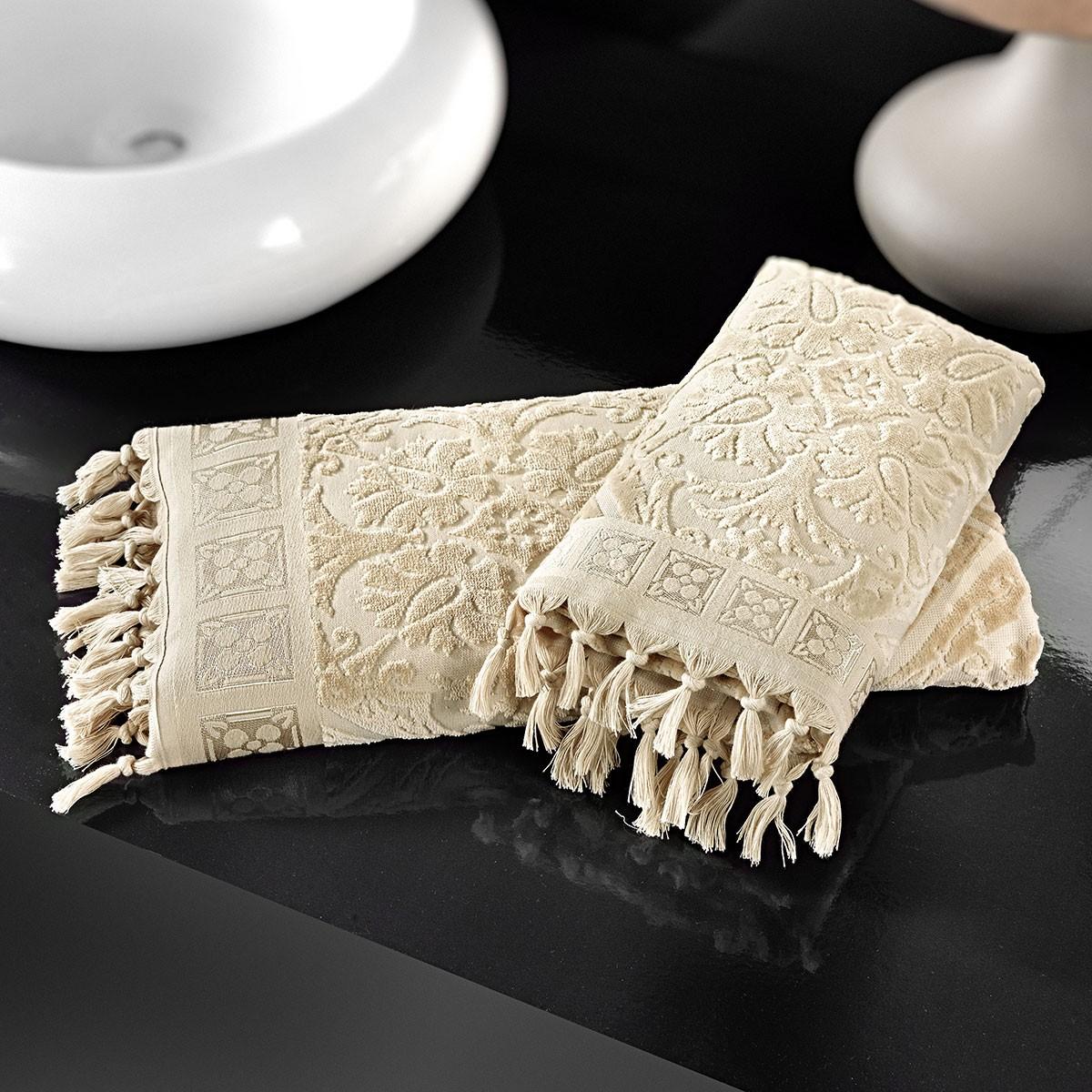 Πετσέτες Προσώπου (Σετ 2τμχ) Nima Le Bain Antique