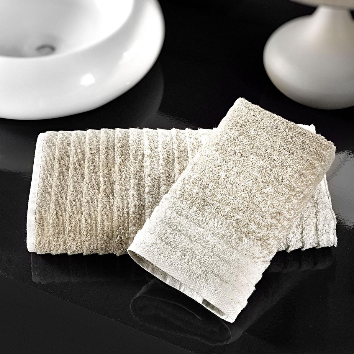 Πετσέτες Προσώπου (Σετ 2τμχ) Nima Le Bain Ombre