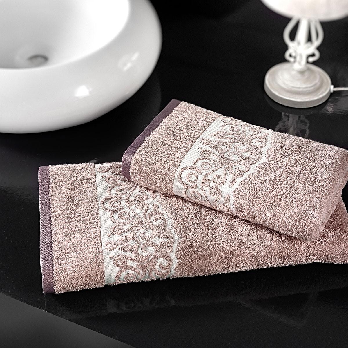 Πετσέτες Προσώπου (Σετ 2τμχ) Nima Le Bain Rosewood