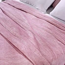 Κουβέρτα Fleece Μονή Nima Alpes Celeste