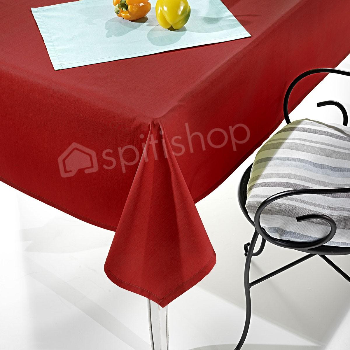 Τραπεζομάντηλο (150x250) Nima Delicatessen Holly Red
